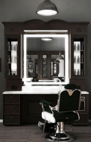 Illuminazione Barber Shop