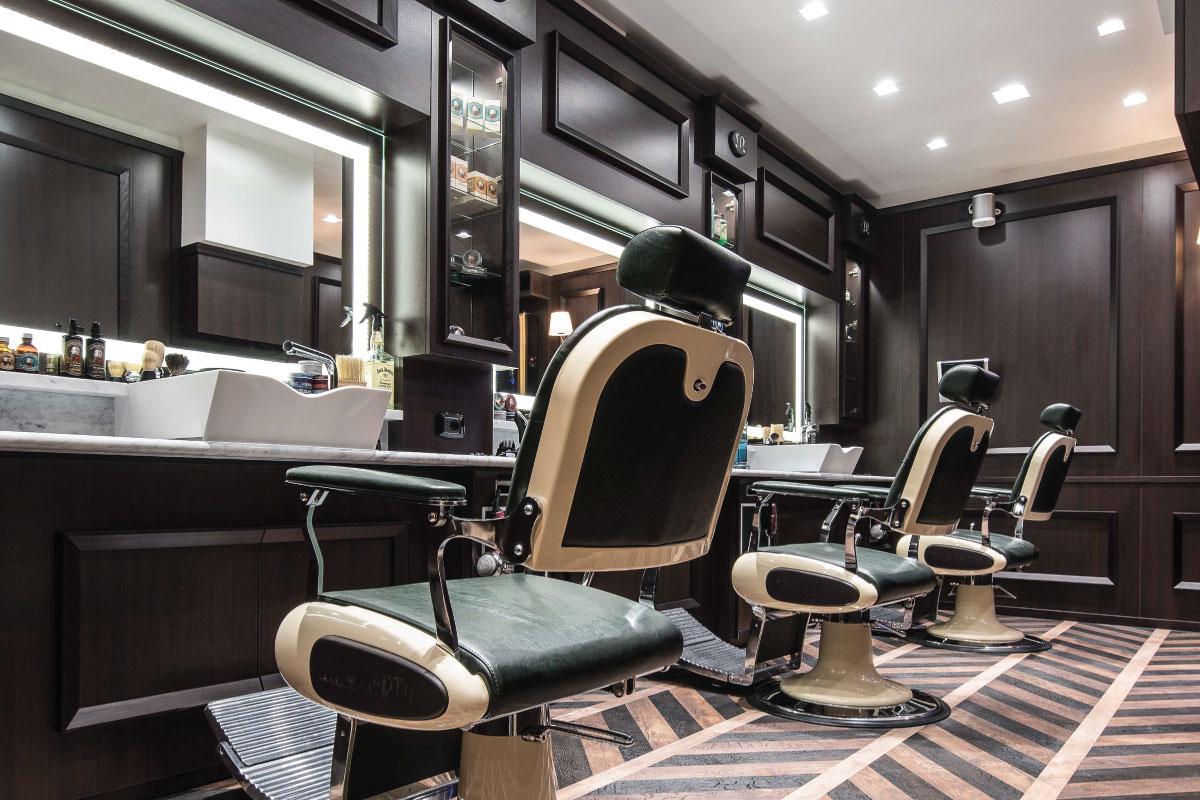 Come arredare un barber shop di successo guida sen martin for Sen martin arredo per barber shop