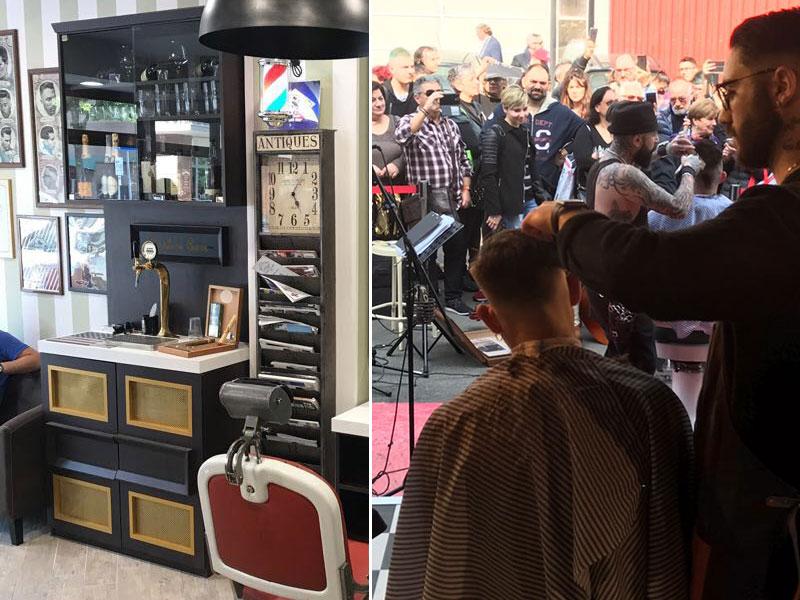 La storia di daniele il barbiere che spilla birra per i for Sen martin arredo per barber shop